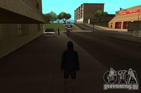 Новый цвет показателя HP у игроков для GTA San Andreas второй скриншот