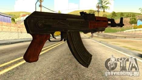 AK47 from Global Ops: Commando Libya для GTA San Andreas второй скриншот