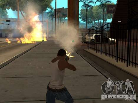 New Realistic Effects 3.0 для GTA San Andreas четвёртый скриншот