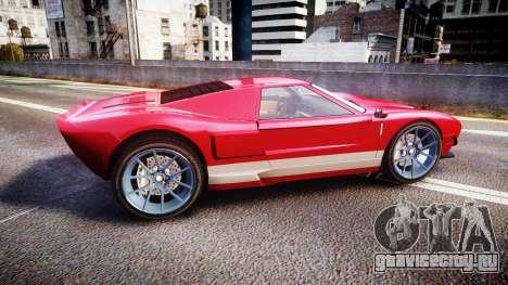 Vapid Bullet 2015 Facelift для GTA 4 вид слева