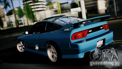 Nissan 180SX для GTA San Andreas вид сзади слева