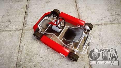 Go Kart для GTA 4 вид справа