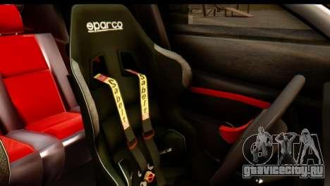 Dacia Logan MXP для GTA San Andreas вид сзади