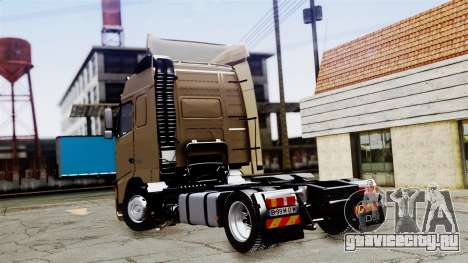 Volvo FH12 Low Deck для GTA San Andreas вид слева