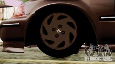 Honda Civic 1.6 для GTA San Andreas вид сзади слева