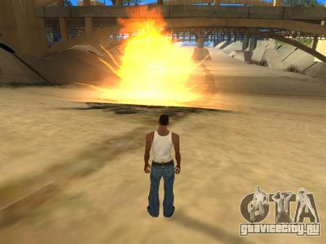 Realistic Effects v3.4 by Eazy для GTA San Andreas третий скриншот