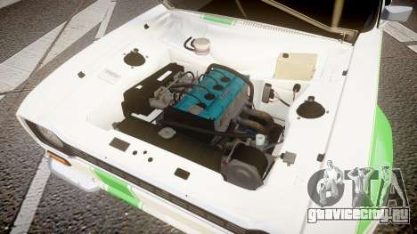 Ford Escort RS1600 PJ48 для GTA 4 вид сзади