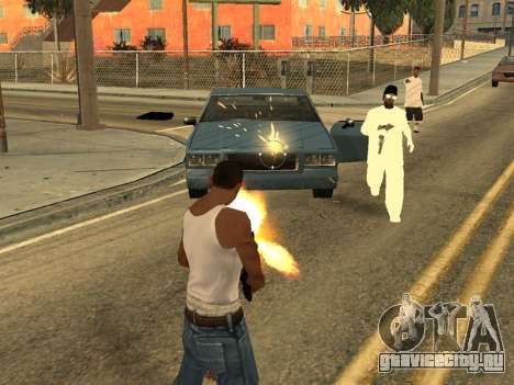 Realistic Effects v3.4 by Eazy для GTA San Andreas второй скриншот