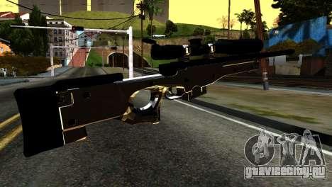New Sniper Rifle для GTA San Andreas второй скриншот