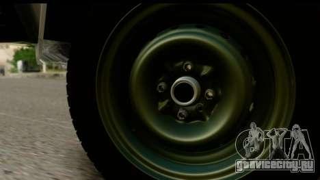ВАЗ 2107 Сток для GTA San Andreas вид справа