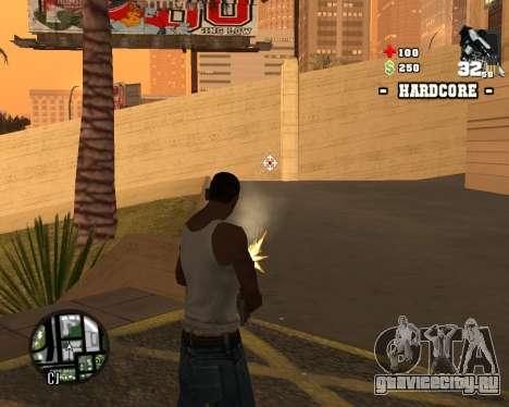 C-HUD Hardcore для GTA San Andreas третий скриншот