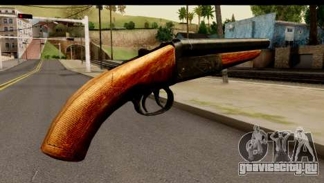 Sawnoff Shotgun HD для GTA San Andreas второй скриншот