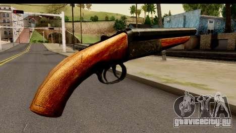 Sawnoff Shotgun HD для GTA San Andreas второй скриншот