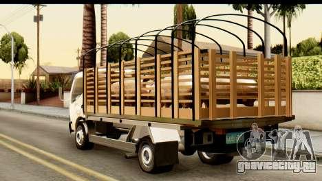 Toyota Dyna Truck Hog Dealer для GTA San Andreas вид слева