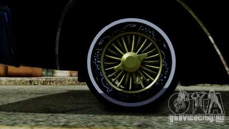 Lincoln Continental для GTA San Andreas вид сзади слева
