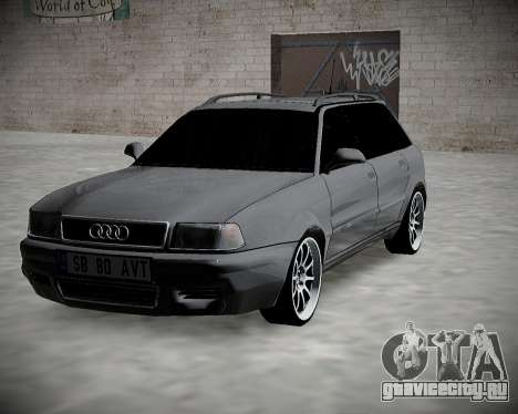 Audi 80 B4 Avant БПАН.РФ для GTA San Andreas вид сзади