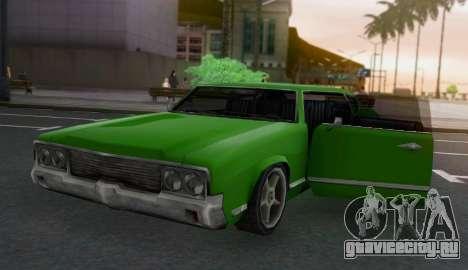 Sabre Limousine для GTA San Andreas вид сзади
