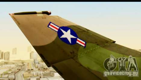 F-4 Vietnam War Camo для GTA San Andreas вид сзади
