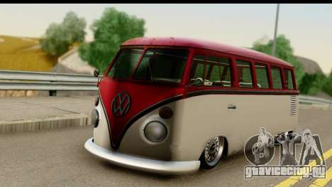 Volkswagen Transporter T1 Stance для GTA San Andreas