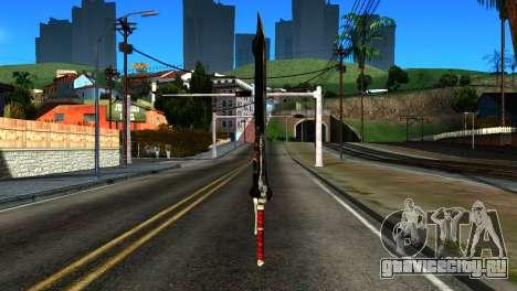 New Katana для GTA San Andreas второй скриншот