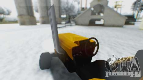 Tractor Kor4 для GTA San Andreas вид слева