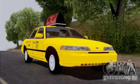 Ford Crown Victoria NY Taxi для GTA San Andreas