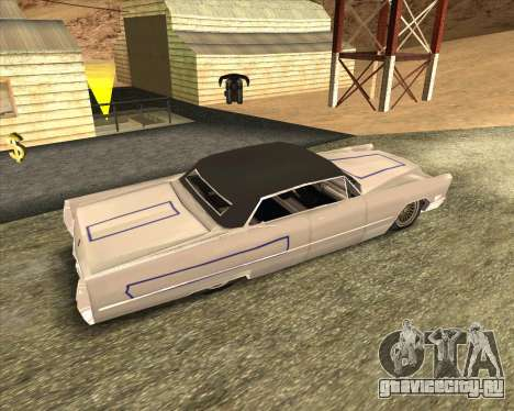 Cadillac DeVille Lowrider 1967 для GTA San Andreas вид сзади