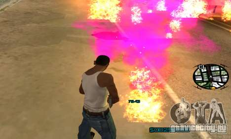 New Pink Effects для GTA San Andreas