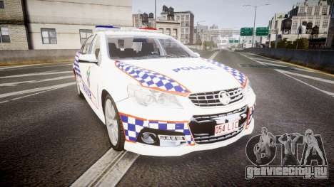 Holden VF Commodore SS Queensland Police [ELS] для GTA 4