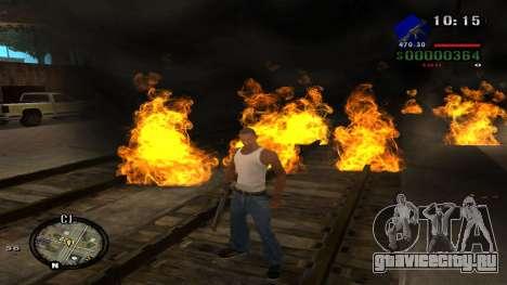 C-HUD by Kidd для GTA San Andreas седьмой скриншот