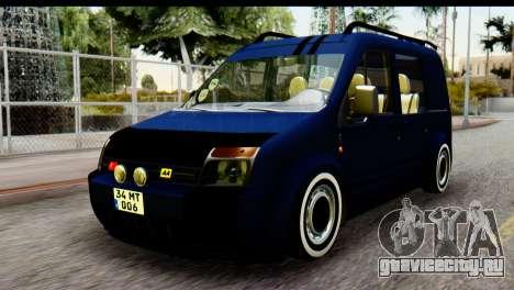 Ford Transit Tourneo Connect Camli Van для GTA San Andreas