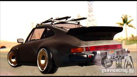 Porsche 911 1980 Winter Release для GTA San Andreas вид слева