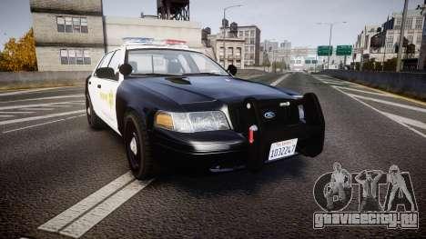 Ford Crown Victoria 2011 LASD [ELS] для GTA 4