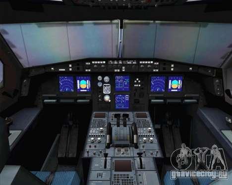 Airbus A330-300 Cathay Pacific для GTA San Andreas вид сзади