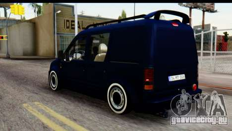 Ford Transit Tourneo Connect Camli Van для GTA San Andreas вид слева