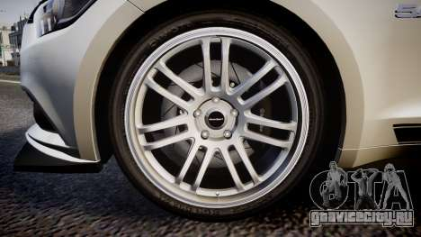 Ford Mustang GT 2015 SPEEDCREED для GTA 4 вид сзади
