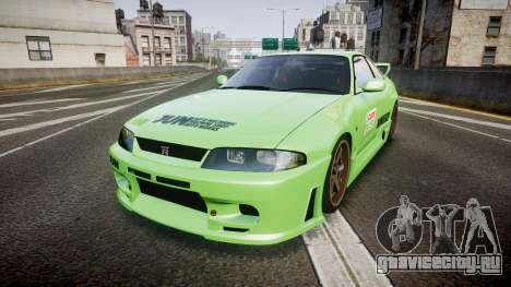 Nissan Skyline BCNR33 JUN VER 1995 v2.0 для GTA 4