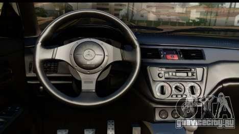 Mitsubishi Outlander для GTA San Andreas вид сзади слева