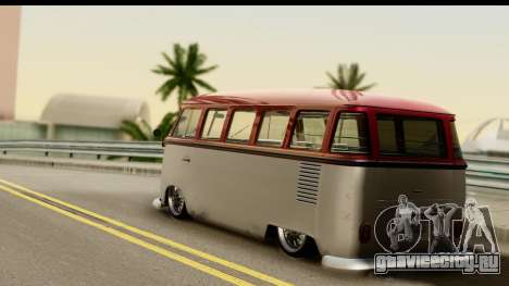 Volkswagen Transporter T1 Stance для GTA San Andreas вид слева