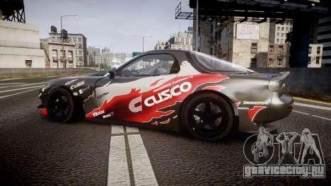 Mazda RX-7 для GTA 4 вид слева
