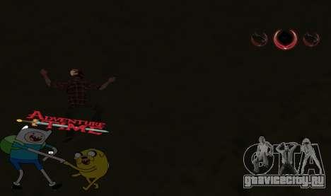 C-HUD Jack and Finn для GTA San Andreas третий скриншот