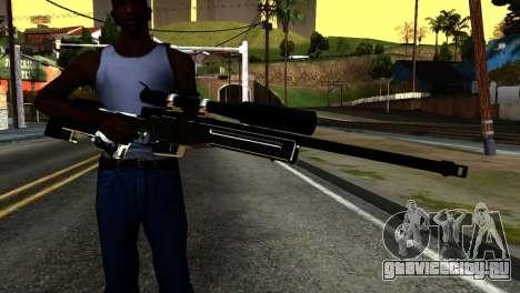 New Sniper Rifle для GTA San Andreas третий скриншот