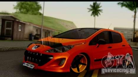 Peugeot 308 ENS Tuning для GTA San Andreas