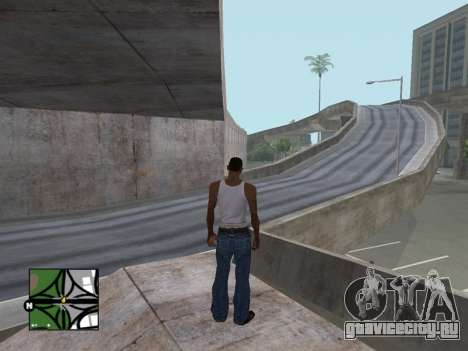 Квадратный радар из GTA 5 для GTA San Andreas