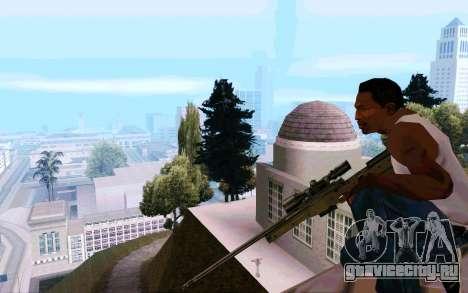 AWP L96 для GTA San Andreas четвёртый скриншот