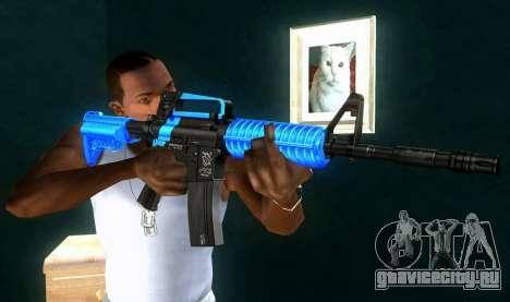 M4 RevoFX для GTA San Andreas третий скриншот
