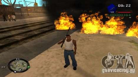C-HUD by Kidd для GTA San Andreas пятый скриншот