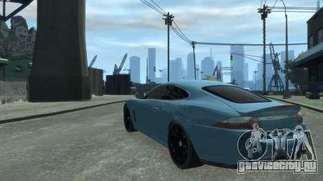 Jaguar XK v.2.0 для GTA 4 вид справа