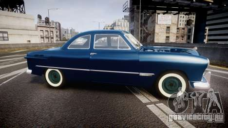 Ford Custom Club 1949 для GTA 4 вид слева