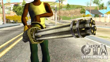Minigun from Redneck Kentucky для GTA San Andreas третий скриншот